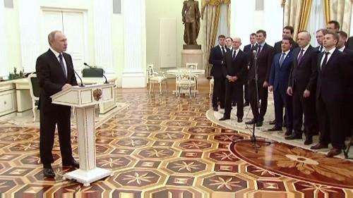 Сергей Сокол принял участие во встрече Владимира Путина с выпускниками управленческого кадрового резерва