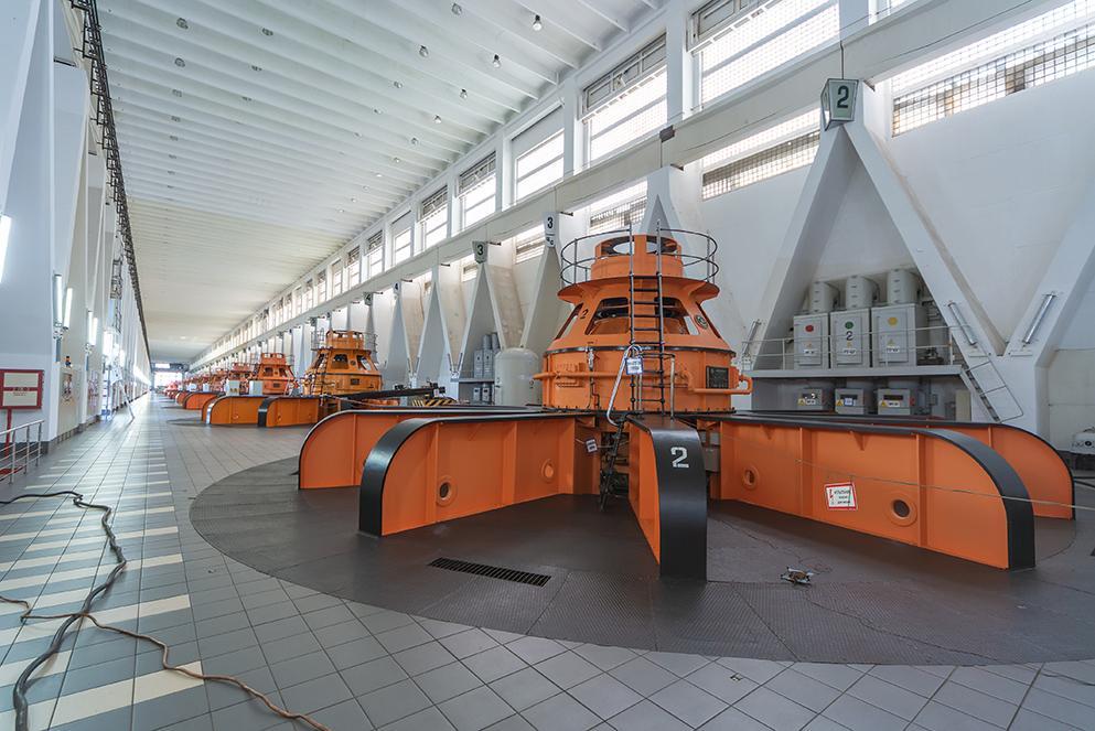 НА БРАТСКОЙ ГЭС НАЧИНАЕТСЯ МОНТАЖ РАБОЧЕГО КОЛЕСА