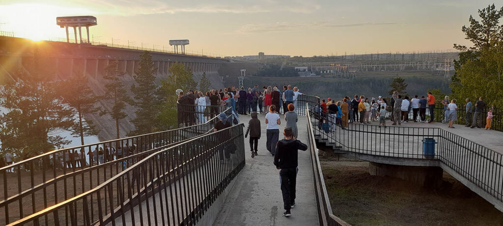 БОЛЬШАЯ ВОДА БРАТСКОЙ ГЭС